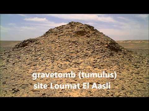 Archaeological sites Es-Semara Morocco april 2013
