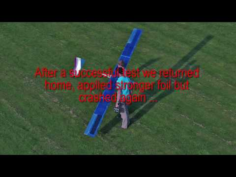 Solar RC Plane 8 hour Endurance Flight
