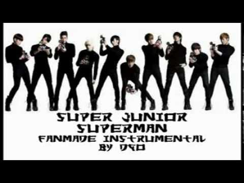 Super Junior - Superman [instrumental+DL]