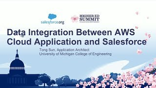 Data Integration Between AWS Cloud Application and Salesforce Mp3