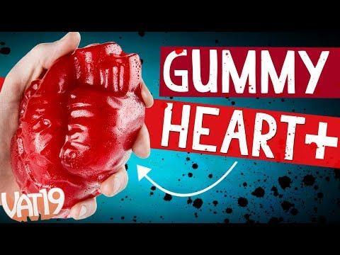 Giant Gummy Human Heart