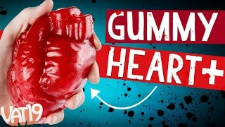 Giant Gummy Human Heart