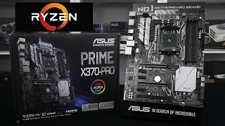 Asus Prime X370 Pro Ryzen Motherboard  Preview