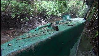 Decomisan Narco submarino con capacidad de 6 toneladas