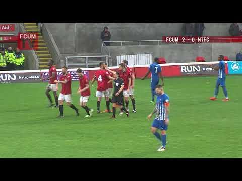 FCUM vs Nuneaton Town FC - Goals - 28-10-17