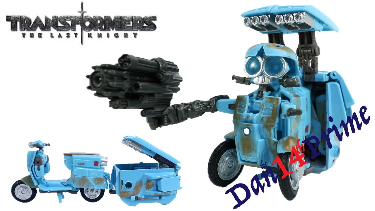 The Last Knight Premier Edition Deluxe Autobot Sqweeks Transformers
