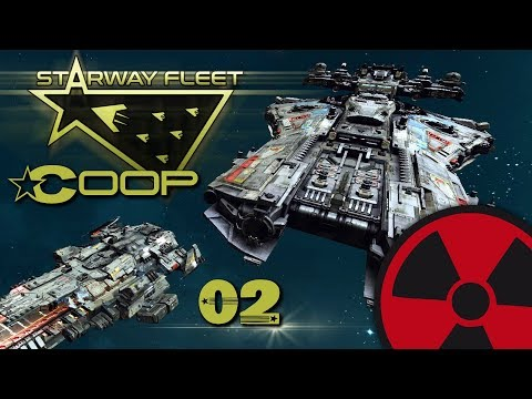 Starway Fleet | Coop - Mission 2: Rettet das Frachtschiff ☢ [Deutsch - Lets Play] [Early Acces]