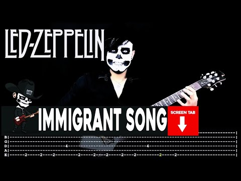 Led Zeppelin - Immigrant Song (Guitar Cover by Masuka W/Tab)