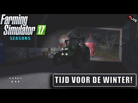 "{NL} ""TIJD VOOR DE WINTER!"" FarmingSimulator 17 Seasons Sandy Bay {G27}"