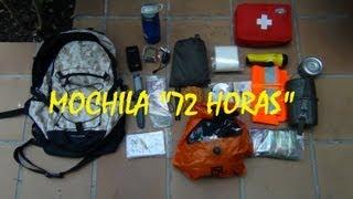 Supervivencia: Mochila 72 horas