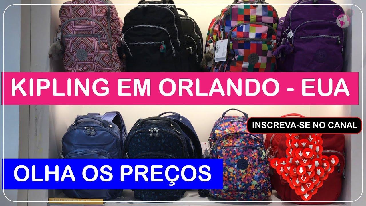 d09c9a391f KIPLING Orlando Premium Outlets com Preços Imperdíveis no Viajar Muda Tudo