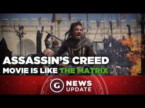 Assassin's Creed Movie Star Fassbender Cites The Matrix as Inspiration – GS News Update