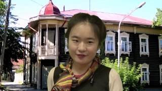 Студентка из Китая Ли Сюэ поет о Томске