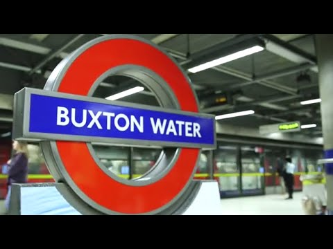 Canada Water rebranded by Buxton for London Marathon 2015