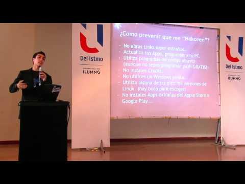 André Conte en FLISoL 2015: Hackeando una Universidad en vivo