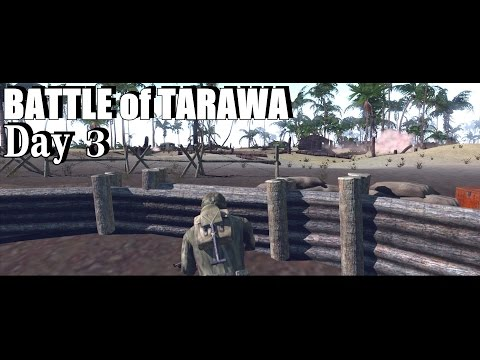 Hell in the Pacific | Battle of Tarawa - Custom mission | Day 3