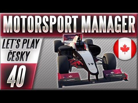 Motorsport Manager - Kariéra | #40 | Maximální Útok (S4) | CZ Let's Play