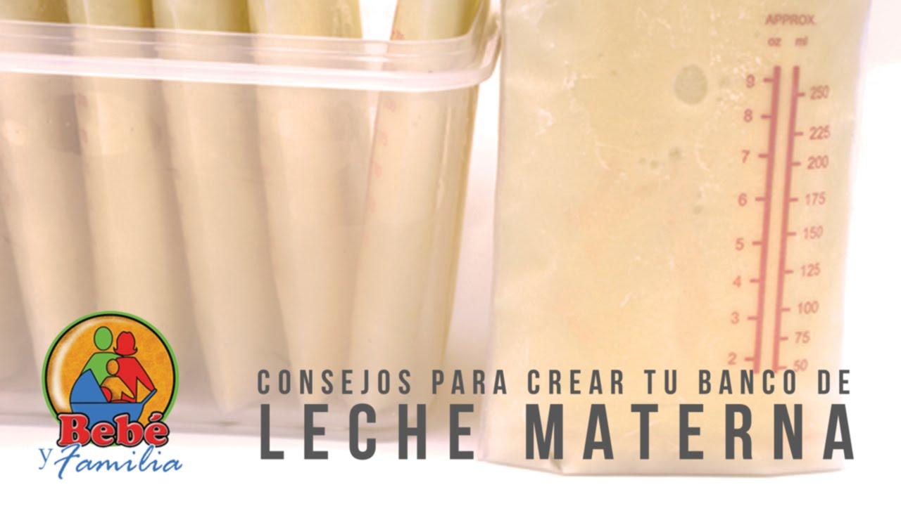 Consejos para crear tu banco de leche materna - YouTube