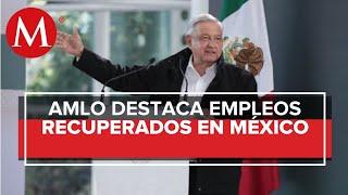 AMLO: economía de México está saliendo del hoyo tras crisis por covid-19