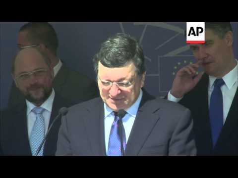 European Union leaders officially open a EU office in Zagreb