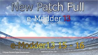PES 2013 | New Patch Full 2015/2016 · eModder13 Patch · ESPECIAL 150 SUBS