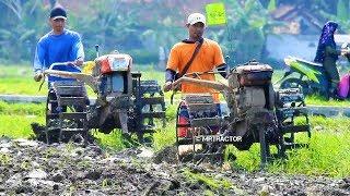 DRONE Membajak Sawah Memakai Traktor Quick G1000 Boxer Dan G3000 Zeva Kulon Progo Yogyakarta