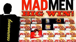 MAD MEN™ Slot - BIG WIN! - *MAX BET* - REAL CASINO PLAY! - Slot Machine Bonus