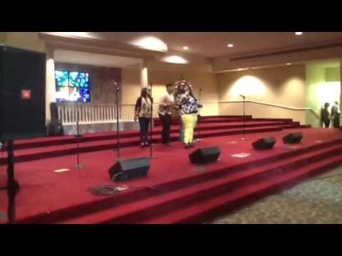 April Hall sings Saved