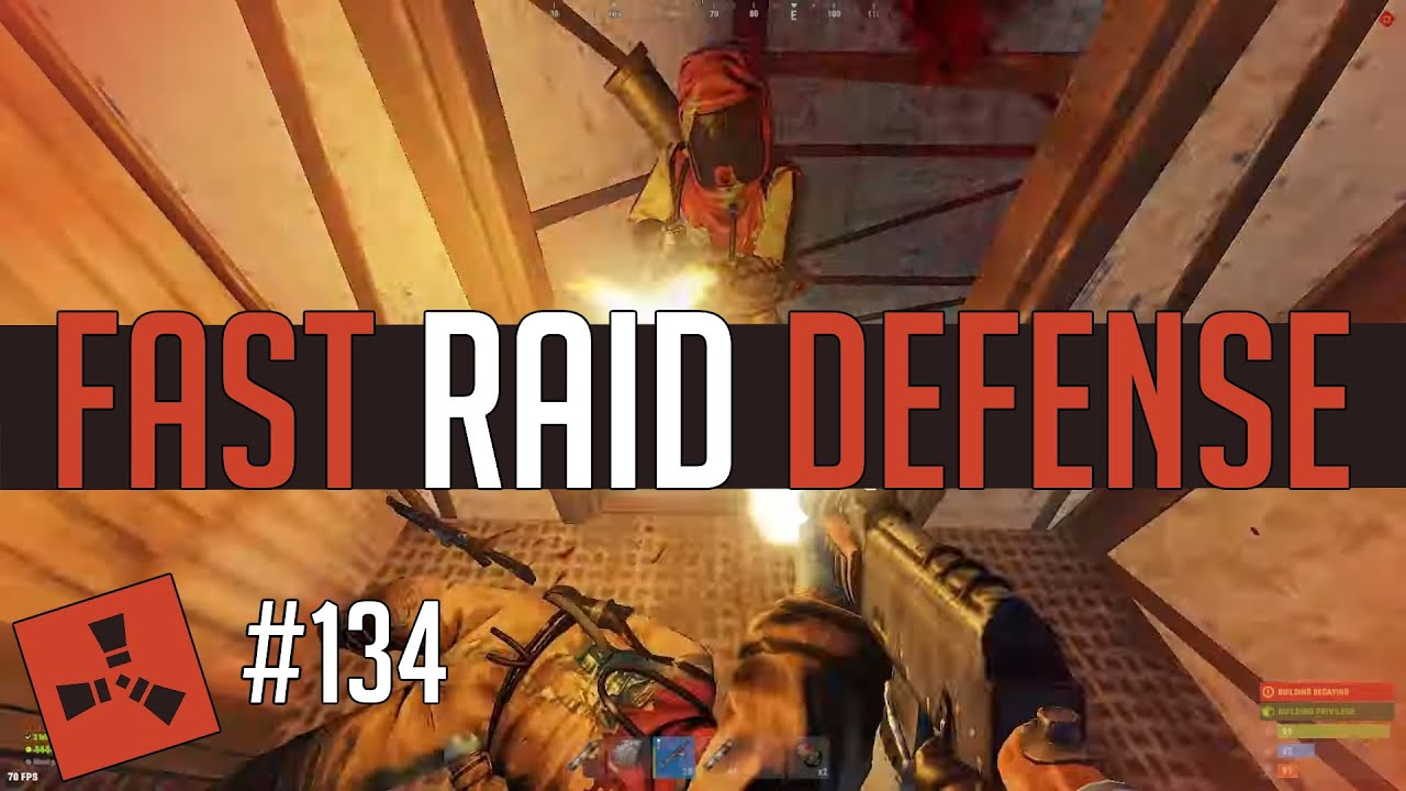 Insanely FAST Raid Defense (Rust Highlights #134)
