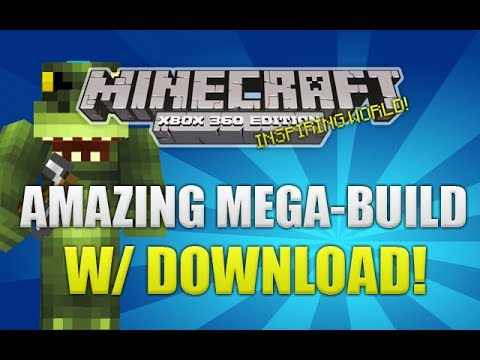 how to build a mall in minecraft xbox 360