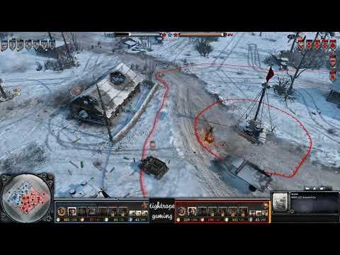COH2 1v1 PanzerGrenadierAngreifen (OH) vs Jae for Jett (UK)