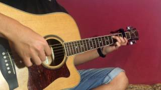Легендарная мелодия на гитаре! (fingerstyle на гитаре - ФИНГЕРСТАЙЛ ГИТАРА :)