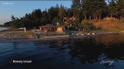 Blakely Island retreat is a four-for-one deal with a beach house of your dreams - KING 5 Evening