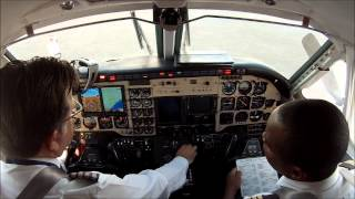 King Air 100 Garrett TPE331 - engine start