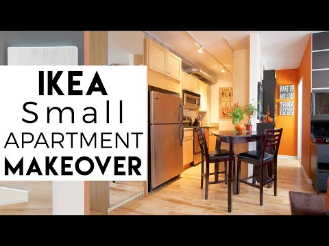 Interior Decorating  Ikea Small Spaces  Tiny Apartment