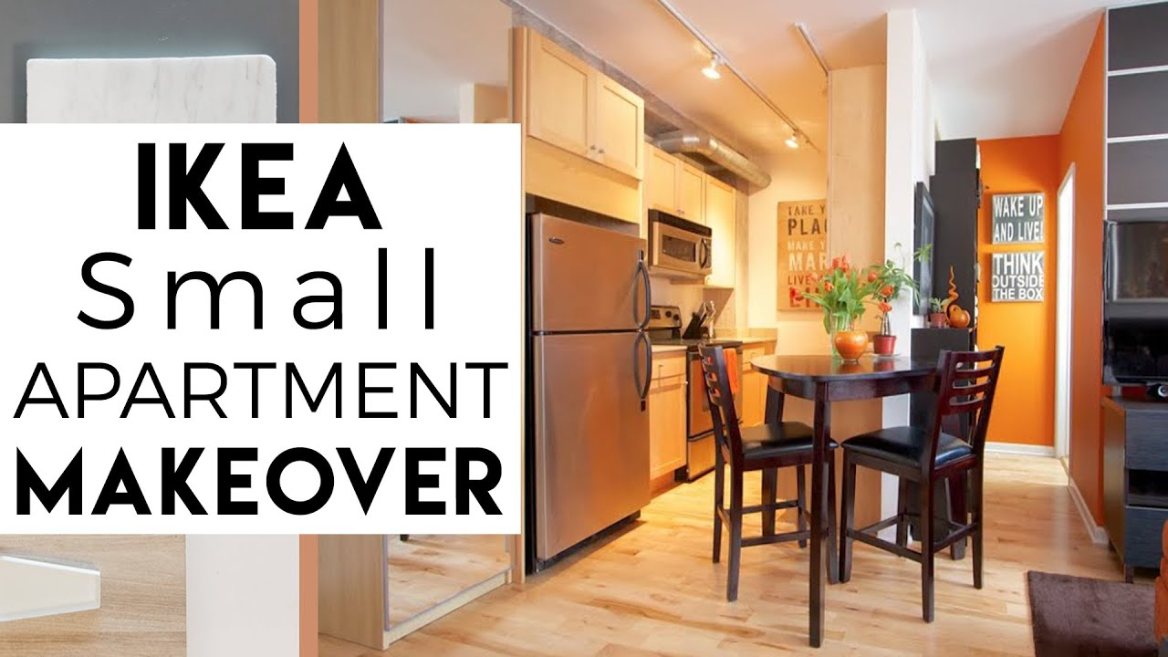 Interior decorating ikea small spaces tiny apartment 3 season 2 youtube - Interior decorating for small apartments ...