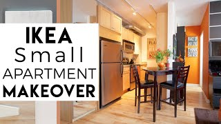 Interior Decorating | IKEA Small Spaces | Tiny Apartment | #3, Season 2
