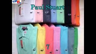 VIDEO Las 10 marcas de camisas Polo más vendidas