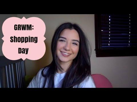 GRWM: SHOPPING DAY    AMANDA MARTIN