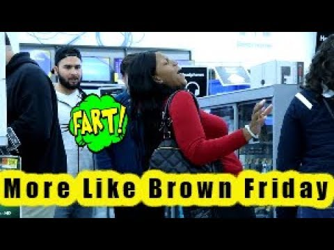 Black Friday Madness 2018 Funny Wet Fart Prank | The Sharter