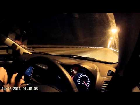Inspira with 2.0T RalliArt tuned by LYNspiRA bangRA K3 topspeed test