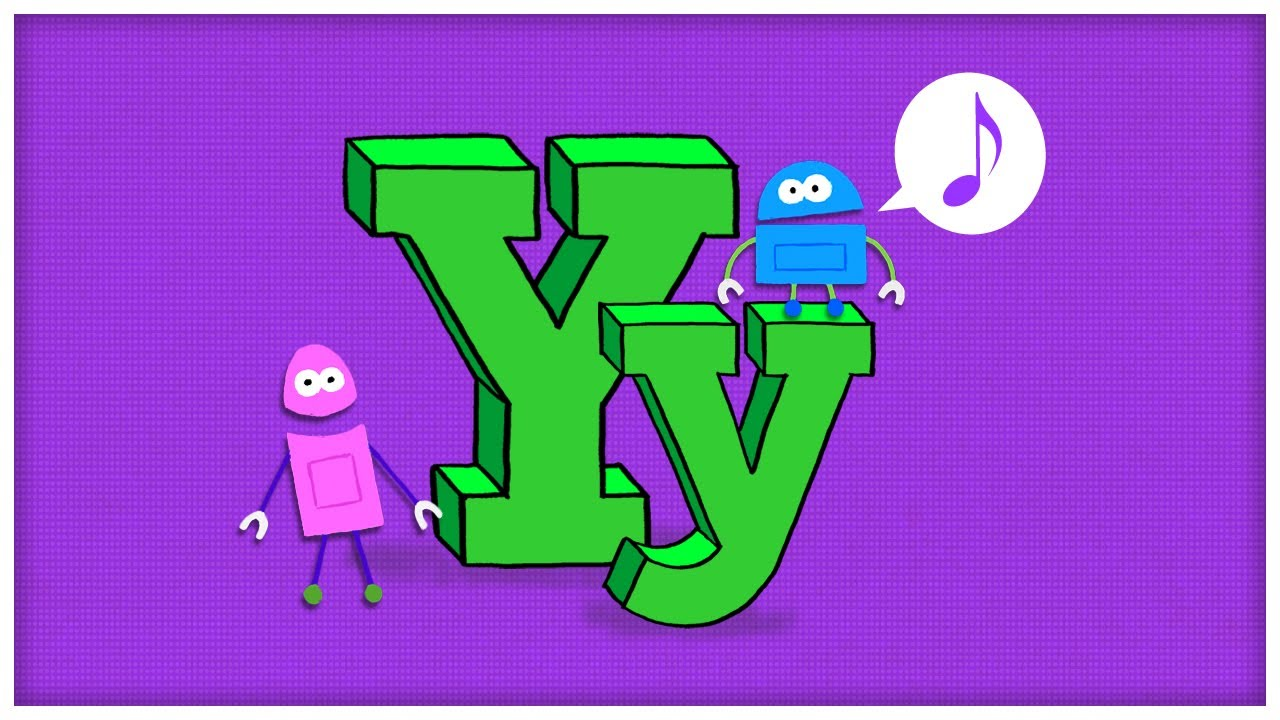 Worksheet Letter Yy abc song the letter y try by storybots youtube