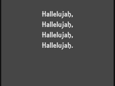 John Cale - Hallelujah - lyrics