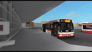(Roblox) TTC 2006-2007 Orion VII NG HEV 1224 - 984 Sheppard Ave West Express - Glitching Sign