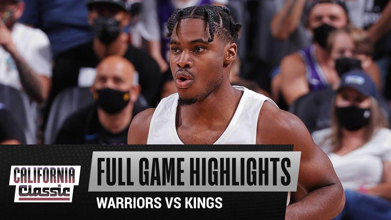 WARRIORS vs KINGS (89-82) | CALIFORNIA CLASSIC | FULL GAME HIGHLIGHTS