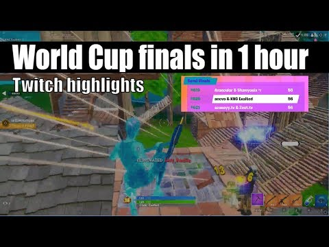 How I Qualified For World Cup Finals In 1 Hour (How to win fortnite scrims) (world cup duos)