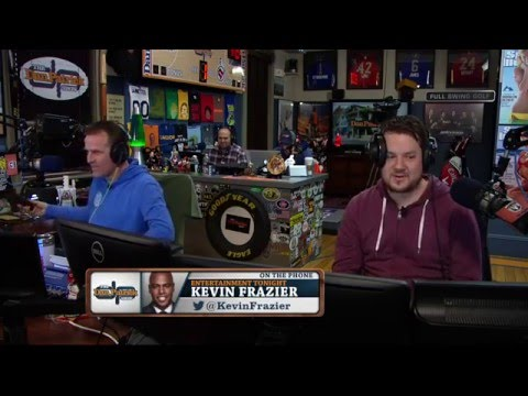 Kevin Frazier on The Dan Patrick Show (Full Interview) 02/29/2016