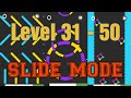 NEW Color Switch [ SLIDE MODE ] Level: 31 - 50 Game Play
