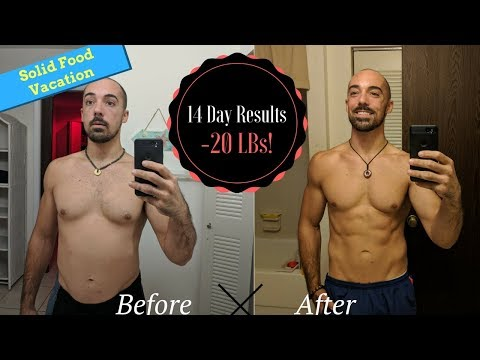INCREDIBLE 14-Day Juice Fast Transformation / Solid Food Vacation / Detox Juice Feast Results