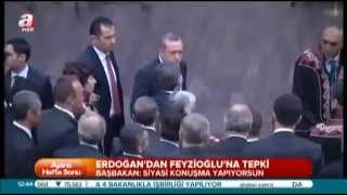Başbakan Erdoğan'dan Metin Feyzioğlu'na sert tepki !